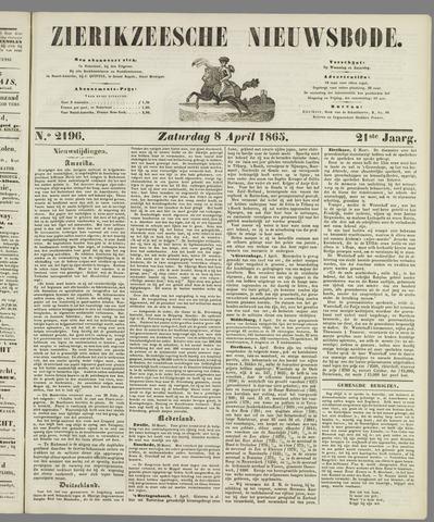 Zierikzeesche Nieuwsbode 1865-04-08