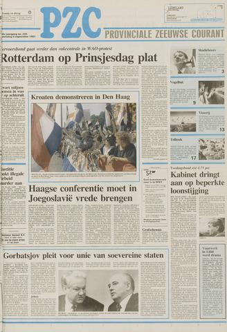 Provinciale Zeeuwse Courant 1991-09-04