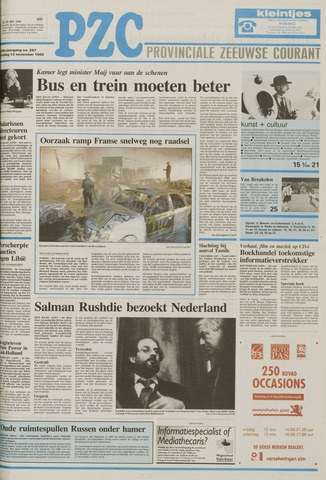 Provinciale Zeeuwse Courant 1993-11-12