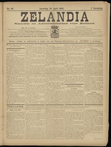 Zelandia. Nieuws-en advertentieblad voor Zeeland | edities: Het Land van Hulst en De Vier Ambachten 1902-04-26