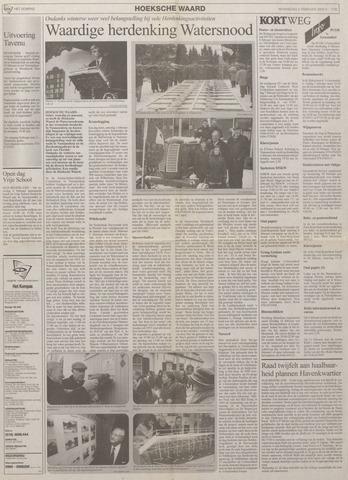 Watersnood documentatie 1953 - kranten 2003-02-05