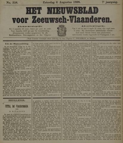 Nieuwsblad voor Zeeuwsch-Vlaanderen 1898-08-06