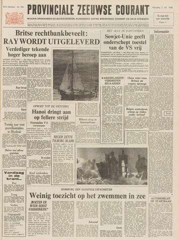 Provinciale Zeeuwse Courant 1968-07-03