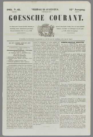 Goessche Courant 1865-08-25