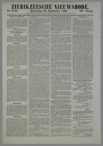 Zierikzeesche Nieuwsbode 1881-09-20