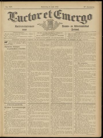 Luctor et Emergo. Antirevolutionair nieuws- en advertentieblad voor Zeeland / Zeeuwsch-Vlaanderen. Orgaan ter verspreiding van de christelijke beginselen in Zeeuwsch-Vlaanderen 1912-07-06