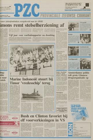 Provinciale Zeeuwse Courant 1992-03-11