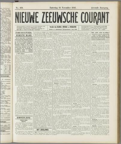 Nieuwe Zeeuwsche Courant 1911-11-11