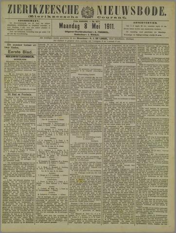 Zierikzeesche Nieuwsbode 1911-05-08