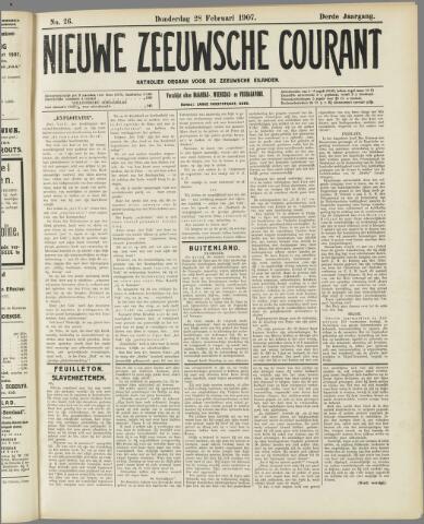 Nieuwe Zeeuwsche Courant 1907-02-28