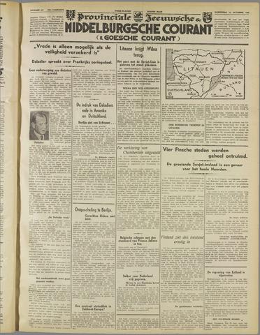Middelburgsche Courant 1939-10-11
