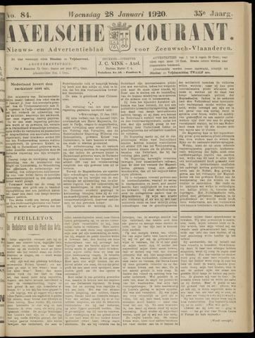 Axelsche Courant 1920-01-28