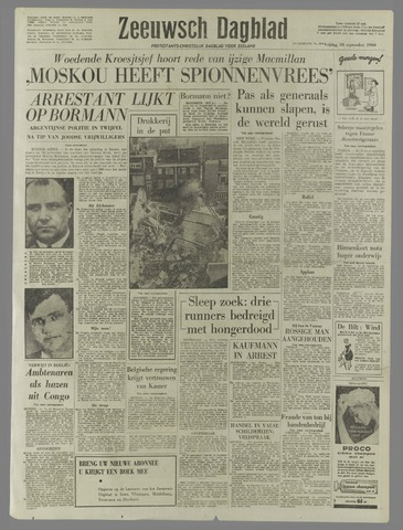 Zeeuwsch Dagblad 1960-09-30