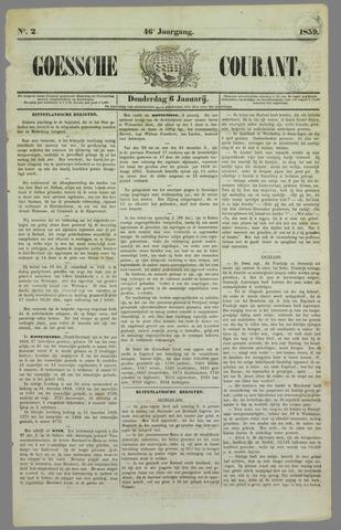 Goessche Courant 1859-01-06