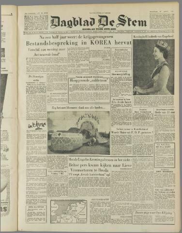 de Stem 1953-04-27