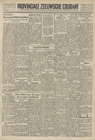 Provinciale Zeeuwse Courant 1946-08-06