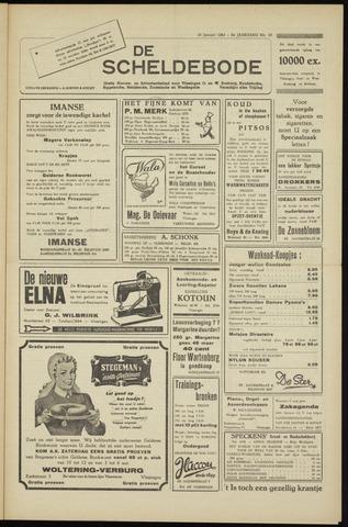 Scheldebode 1954-01-29
