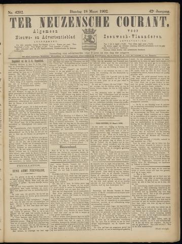 Ter Neuzensche Courant. Algemeen Nieuws- en Advertentieblad voor Zeeuwsch-Vlaanderen / Neuzensche Courant ... (idem) / (Algemeen) nieuws en advertentieblad voor Zeeuwsch-Vlaanderen 1902-03-18