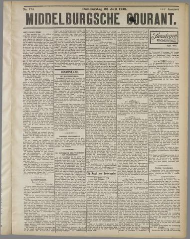 Middelburgsche Courant 1921-07-28