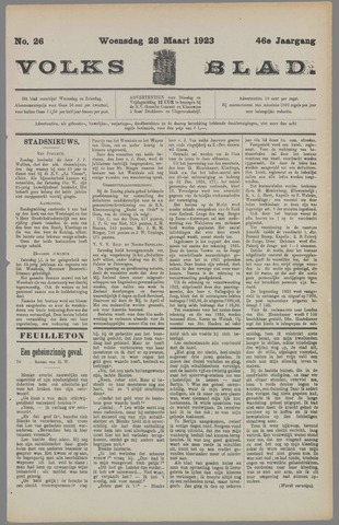 Volksblad 1923-03-28