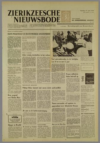 Zierikzeesche Nieuwsbode 1970-04-27