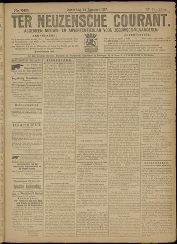 Ter Neuzensche Courant. Algemeen Nieuws- en Advertentieblad voor Zeeuwsch-Vlaanderen / Neuzensche Courant ... (idem) / (Algemeen) nieuws en advertentieblad voor Zeeuwsch-Vlaanderen 1917-01-13