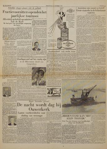 Watersnood documentatie 1953 - kranten 1953-10-21