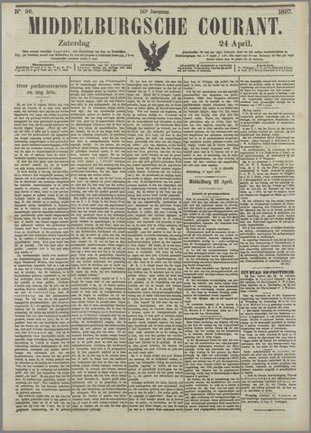 Middelburgsche Courant 1897-04-24