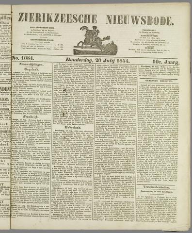 Zierikzeesche Nieuwsbode 1854-07-20