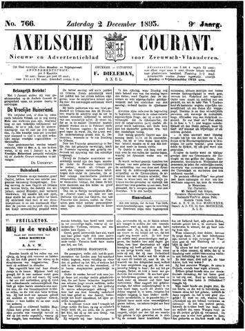 Axelsche Courant 1893-12-02