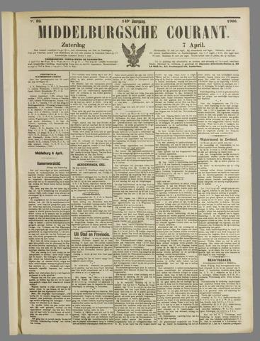 Middelburgsche Courant 1906-04-07