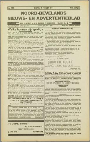 Noord-Bevelands Nieuws- en advertentieblad 1941-02-01