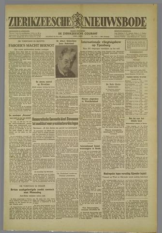 Zierikzeesche Nieuwsbode 1952-07-28