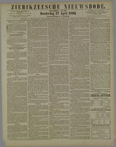 Zierikzeesche Nieuwsbode 1893-04-27
