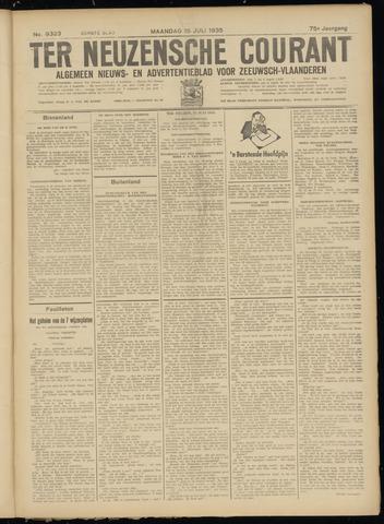 Ter Neuzensche Courant. Algemeen Nieuws- en Advertentieblad voor Zeeuwsch-Vlaanderen / Neuzensche Courant ... (idem) / (Algemeen) nieuws en advertentieblad voor Zeeuwsch-Vlaanderen 1935-07-15