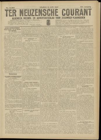 Ter Neuzensche Courant. Algemeen Nieuws- en Advertentieblad voor Zeeuwsch-Vlaanderen / Neuzensche Courant ... (idem) / (Algemeen) nieuws en advertentieblad voor Zeeuwsch-Vlaanderen 1942-06-12