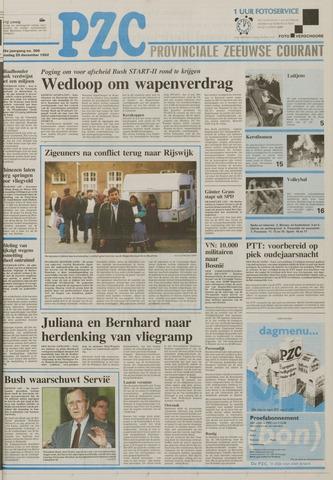 Provinciale Zeeuwse Courant 1992-12-29