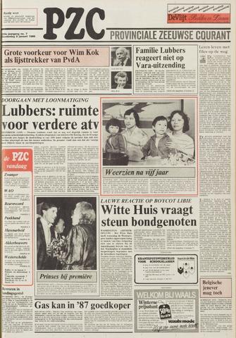 Provinciale Zeeuwse Courant 1986-01-09