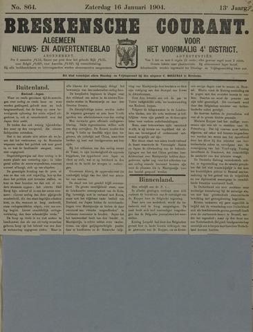 Breskensche Courant 1904-01-16