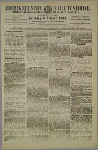 Zierikzeesche Nieuwsbode 1900-10-06