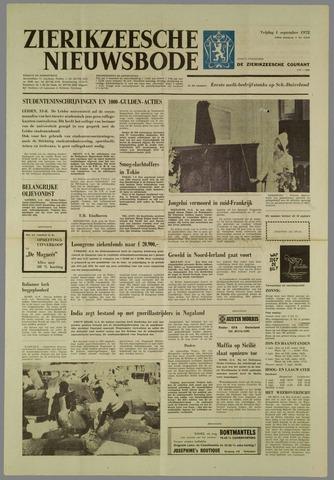 Zierikzeesche Nieuwsbode 1972-09-01