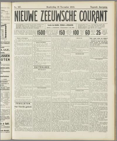 Nieuwe Zeeuwsche Courant 1913-11-20