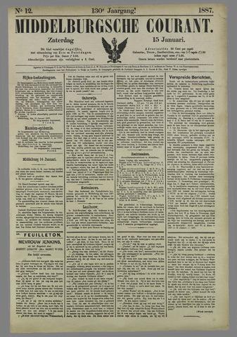 Middelburgsche Courant 1887-01-15