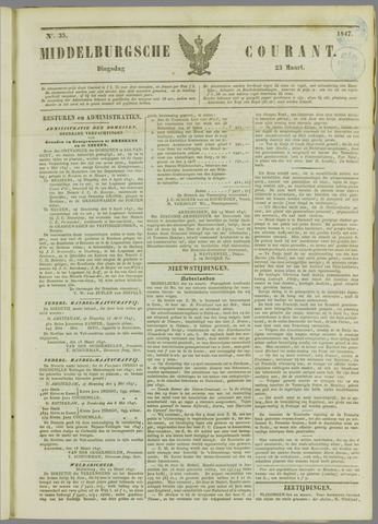 Middelburgsche Courant 1847-03-23