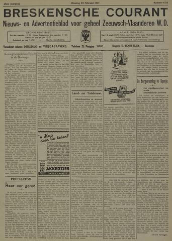 Breskensche Courant 1937-02-23