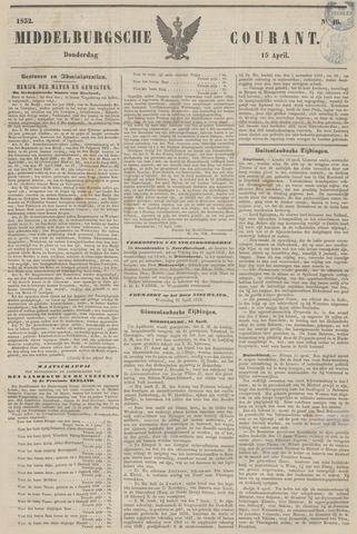 Middelburgsche Courant 1852-04-15