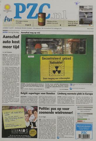 Provinciale Zeeuwse Courant 2011-05-07