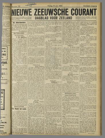 Nieuwe Zeeuwsche Courant 1920-06-18