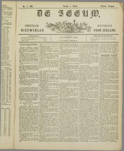De Zeeuw. Christelijk-historisch nieuwsblad voor Zeeland 1898-10-04
