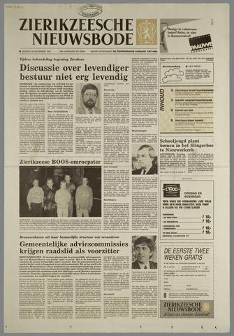 Zierikzeesche Nieuwsbode 1991-11-26